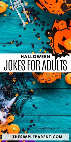 When we were gathering our favorite Halloween Jokes for Kids, there were a few that went over the kids' heads just a little bit. Those are the jokes and riddles that ended up on our list of Halloween Jokes for Adults. But they are still family friendly!