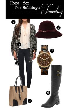 Traveling outfit inspiration