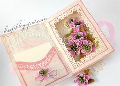 Hochzeitskarten - 3D Karte zur Hochzeit - ein Designerstück von kszp bei DaWanda