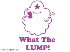 Lumpy Space Princess What The Lump Decal Adventure Time. $7.00, via Etsy.