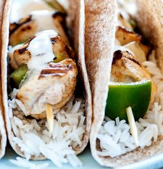 Chicken fajita kebabs make a tremendous kids recipe, though adults will love them, too. The chicken is marinated in a range of punchy flavours, including Tabasco, chilli powder and garlic. For other great chicken dishes for kids view our mouth-watering children's chicken recipe collection.