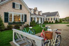 HGTV Dream Home 2015 - Exterior and Bike Rack - LOVE this!