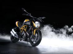 Ducati Diavel on Behance