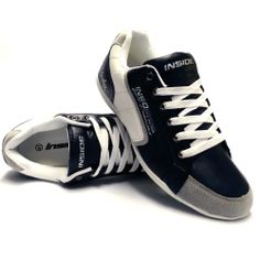 info for d8df4 c8206 Mens New Casual Lace Up Navy White Flat Sports Pumps Gym Trainers Shoes Size