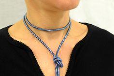 40% Boho Choker Necklace, wrap Choker