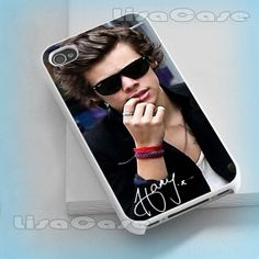 One Direction Harry Styles iPhone case iPhone 4/4S by LissaCase, $13.99