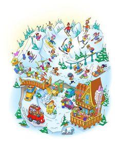 Bob Brugger - professional children's illustrator, view portfolio