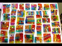 HOW TO MAKE YOUR OWN \'ART GLASS\'