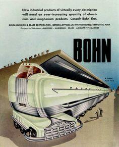 Bohn's retrofuture. Tank truck