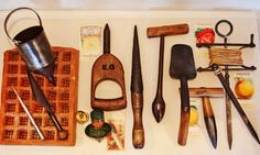 Gardening Tools, for Sowing or Reaping at the #Bartow-Pell
