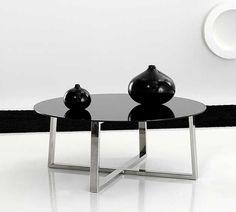 Mesa de Centro Moderna 90cms Adela Material: Acero Inox. ... Eur:719 / $956.27