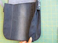 Σακούλα παλιό τζιν. Tutorial Ιδέες φροντιστήριο ~ DIY!