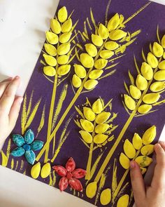 Autumn Crafts, Fall Crafts For Kids, Nature Crafts, Craft Activities For Kids, Summer Crafts, Preschool Crafts, Art For Kids, Kids Crafts, Pista Shell Crafts
