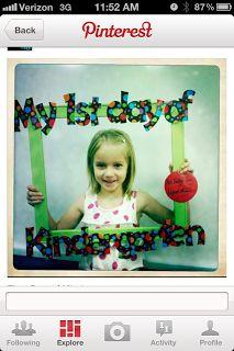 Welcome!: My 1st Day of Kindergarten!