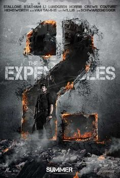 The Expendables 2 11x17 Movie Poster (2012)