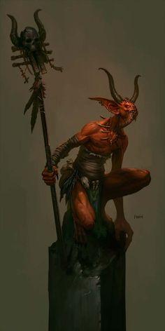 Concept art for Diablo 3: The Shaman - http://wanelo.com/p/3870872/diablo-3-war-the-secret-formula-to-leveling-and-making-gold-in-diablo-3