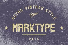 Marktype Font by Mankoff on Creative Market
