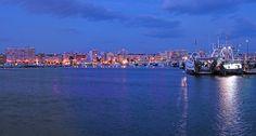 Puerto Pesquero atardecer. Santa Pola