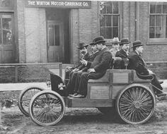 1896 Winton automobile, Cleveland