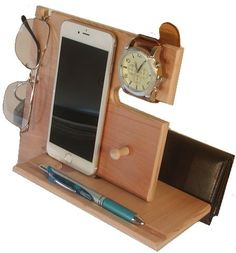 iPhone 6 iPhone 6s del Docking Station, teléfono muelle, Valet de Mens, teléfono estación de carga, muelle de teléfono móvil