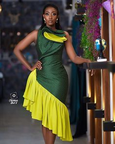 Instagram African Attire, African Dress, Cute Fashion, Unique Fashion, Modest Fashion Hijab, Ankara Short Gown Styles, Latest African Fashion Dresses, Africa Fashion, Classy Dress
