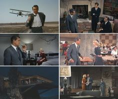 """""""North by Northwest""""   Cinema Style: 20 Unforgettable American Movie Interiors   Apartment Therapy"""