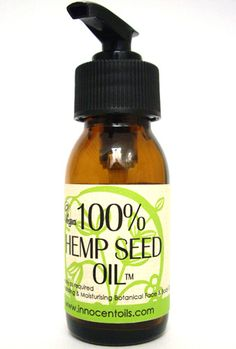 Innocent Oils 100% Hemp Seed Oil.  Hydrating and adaptive to all skin types. Ideal for eczema and dry/sensitive skin types.  £6.99 www.innocentoils.com/HEMPCOLL.html