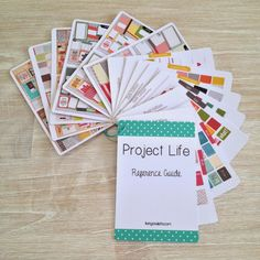 Project Life Reference Card - Organising