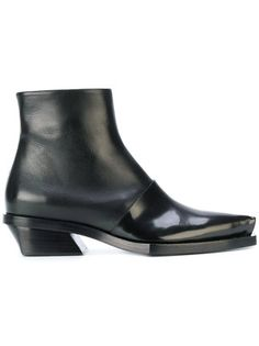 Proenza Schouler fitted structured boots
