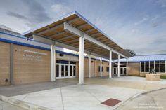 Front Entrance at Niobrara School http://www.kurtjohnsonphotography.com/