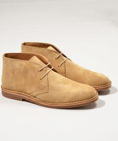 Sand Suede Desert Boots