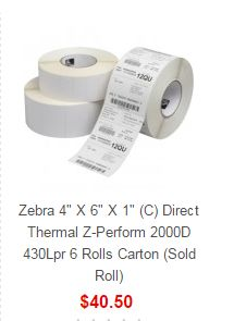 Search results for: 'Zebra zebra 4 6 1 c direct the l z perform rolls carton sold roll'