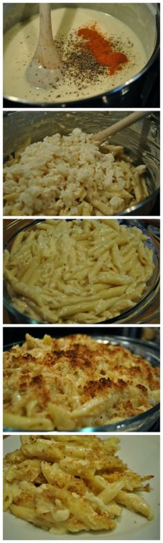 Myrecipeview: Crab + Mac and Cheese