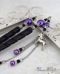 6bc3168c9 Unicorn Jewelry   Garden of Dreams   Hair Sticks, Fantasy Jewelry, hair  jewelry, hair stick, hair accessory, fairytale gift, hair ornament