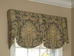 Love this style curtain