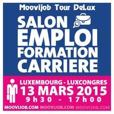 On parle du salon @moovijob sur le blog. Rdv sur www.lesmessesbasses.com #moovijob #tourdelux #salon #emploi #formation #carriere #mars #luxembourg #metz #thionville #moselle #lorraine #france #blog #lesmessesbasses