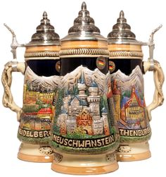 Romantic Road Germany LE Beer Stein .5L