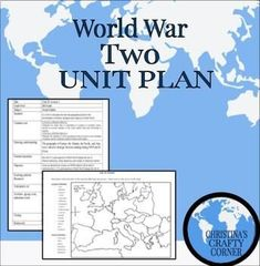 World War Two Unit Plan is designed for success in middle school or high school. The lesson plan includes detailed step by step Lesson plan with standards, differentiation, Tests, Learning guide, Presentations, activities and more. The comprehensive presentation guides rigorous instruction beginning with direct instruction on World War Two. Boost students' knowledge on WWII and allows them to have a more create take on this topic. This project can be used in middle school or high school