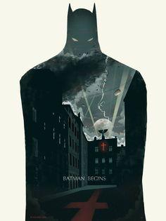 Batman Begins . Batman / Trilogy set by bigbadrobot Batman Begins, Im Batman, Batman Art, Superman, Batman Poster, Batman Cartoon, Black Batman, Superhero Poster, Batman Arkham