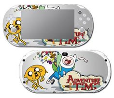 Adventure Time Jake Finn Video Game Vinyl Decal Skin Sticker Cover for Sony Playstation Vita Slim 2000 Series System ** For more information, visit image link.Note:It is affiliate link to Amazon.
