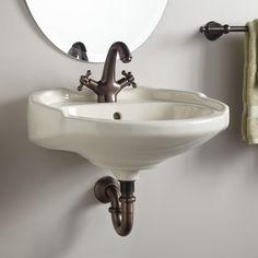 Victorian Medium Wall-Mount Bathroom Sink • $173.95