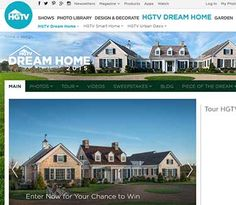 You could win your Dream Home. HGTV Dream Home 2015 – Martha's Vineyard real estate...