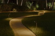 Stunning DIY outdoor lighting Ideas for trees 6746104380 Exterior House Lights, Pathway Lighting, House Lighting, Outdoor Walkway, Lighting Design, Lighting Ideas, Landscape Design, Walkways, Landscape Designs