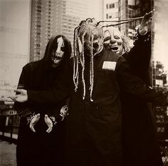Slipknot - Joey, Corey and Clown
