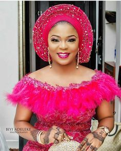 Trendy Lace Asoebi Styles For Fashionistas - isishweshwe Aso Ebi Lace Styles, African Lace Styles, African Lace Dresses, Lace Dress Styles, African Dresses For Women, African Style, Ankara Styles, Blouse Styles, African Fashion Ankara