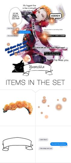 """""""Yurio"""" by overusedmeme ❤ liked on Polyvore featuring art"""