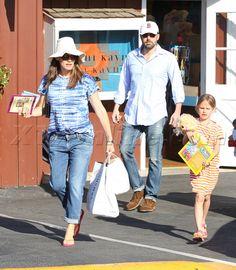 Ben Affleck, Jennifer Garner actor Violet Seraphina Brentwood