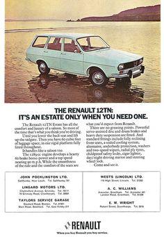 Renault 12tn ad 1975 nuevito. de este color. grandes viajes