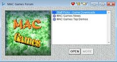 AOL Mac Games Screenshot
