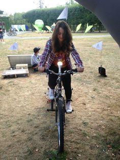 Eko ładowarnia dla Mobile Vikings @ MeetUP 2015 // Eco charging point for mobile devices @ MeetUP 2015 #ecoevent #ładowarnia #chargingstation #eventideas #ecoeventideas